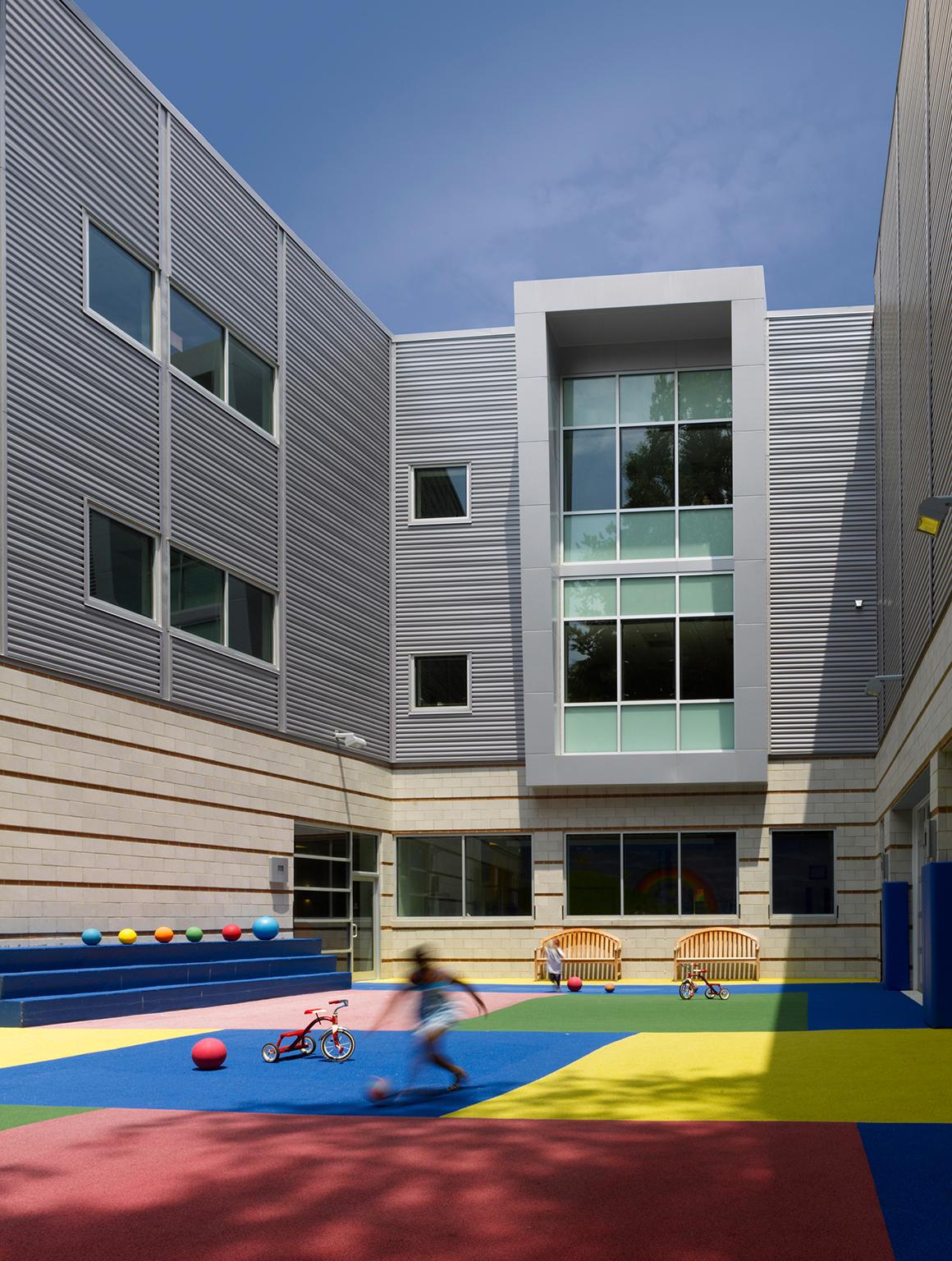 KIPP DC Benning Campus Studio Twenty Seven Architecture - Exterior