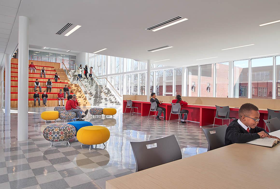 Achievement Prep Academy - Wahler Campus by StudioTwentySevenArchitecture - Interior