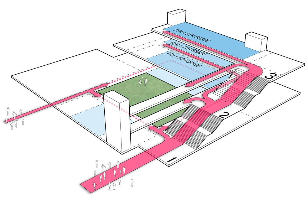Achievement Prep Academy - Wahler Campus by StudioTwentySevenArchitecture - Axon-01