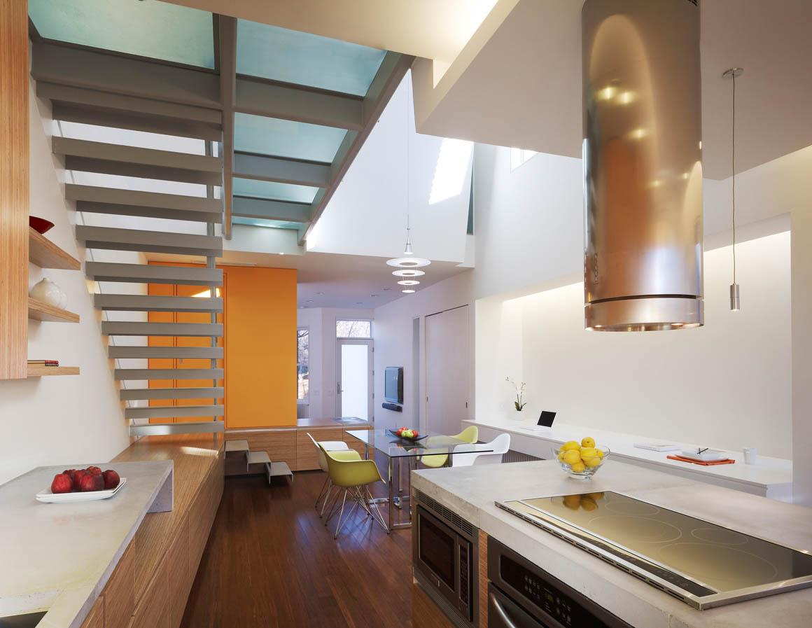 Rincon-Bates Residence StudioTwentySevenArchitecture - Kitchen Interior