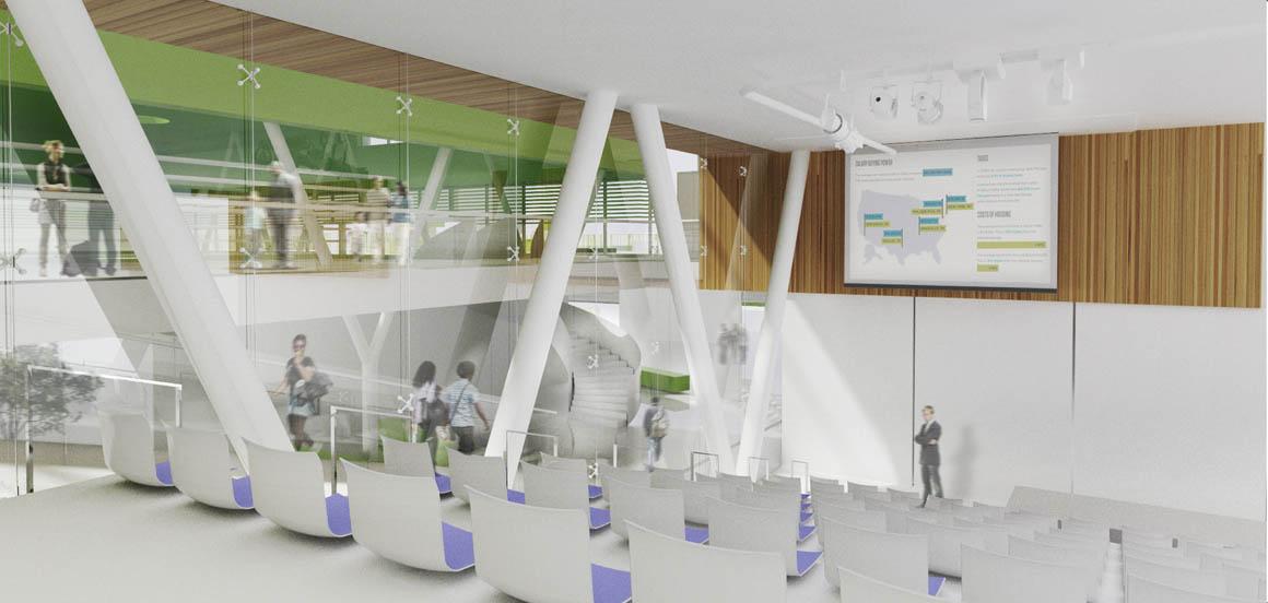 Mosaica Academy Studio Twenty Seven Architecture - Interior Rendering