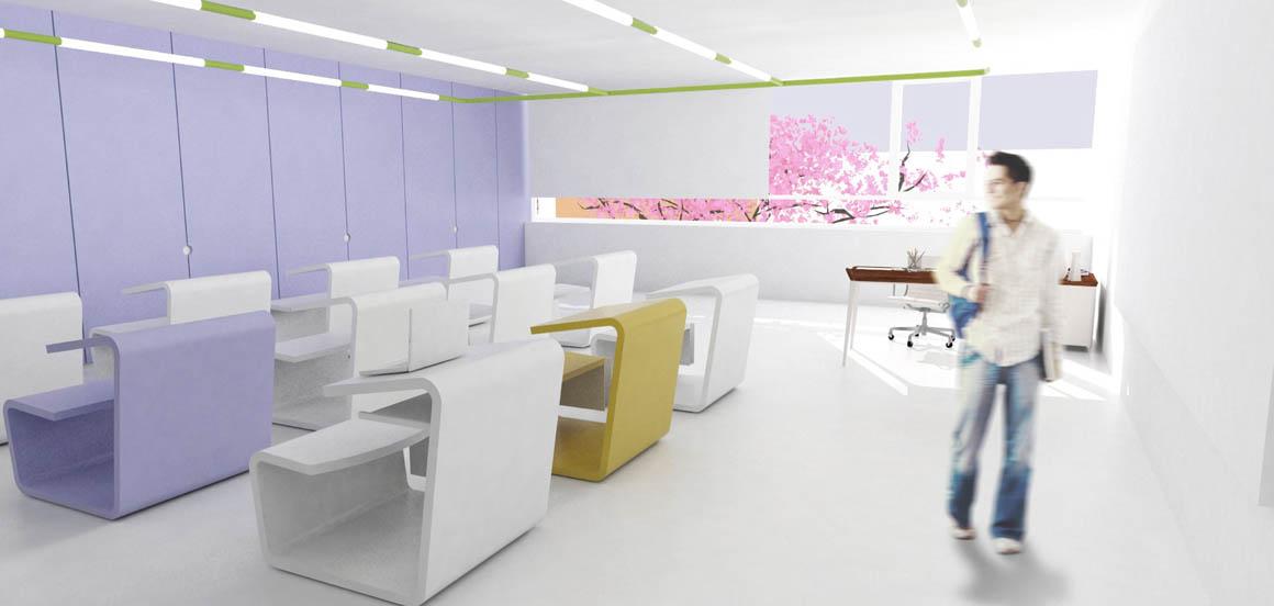 Mosaica Academy Studio Twenty Seven Architecture - Rendering