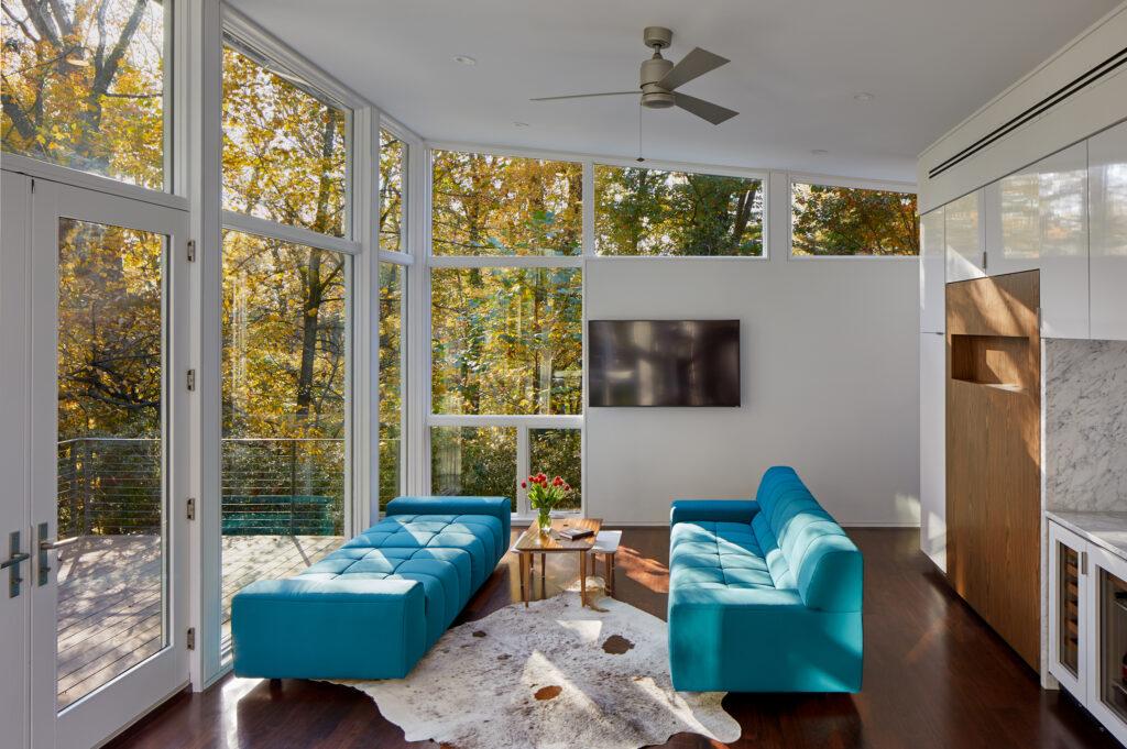 Studio27 Architecture Mid Century Modern House copyright Hoachlander Davis Photography