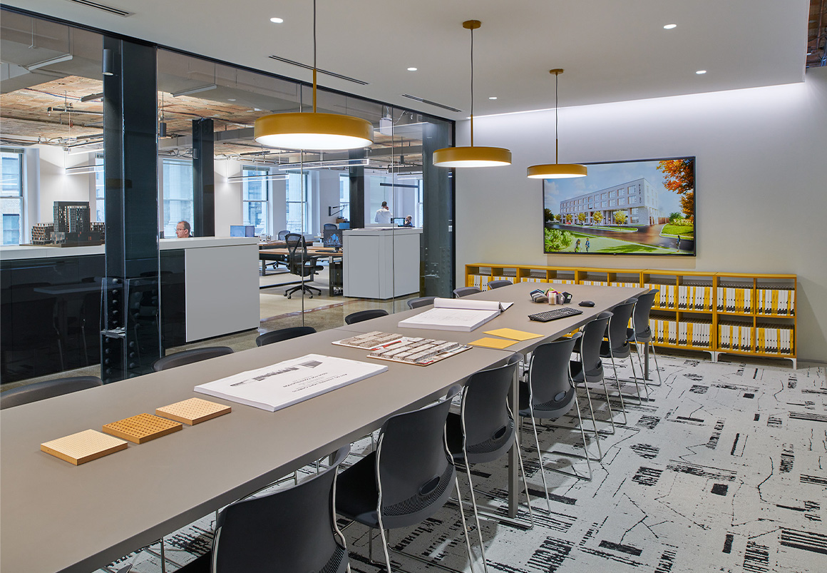 Studio Twenty Seven Architecture Southern Building Office conference rooms
