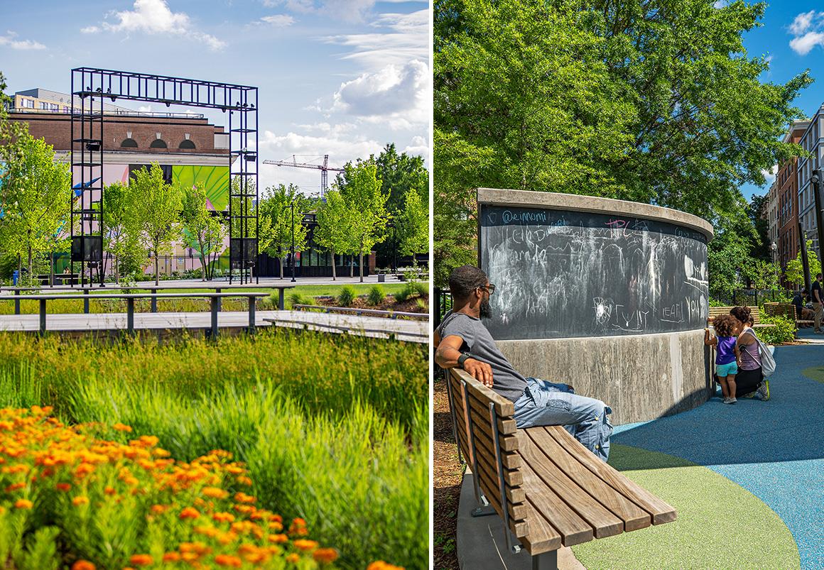 Studio Twenty Seven Architecture Alethia Tanner Park NoMA